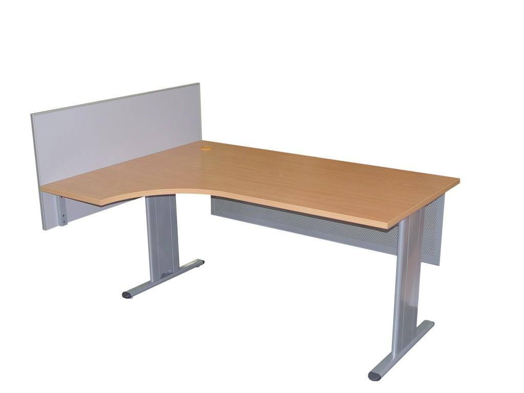Meble - biurko 1600x1200x745 + przegroda